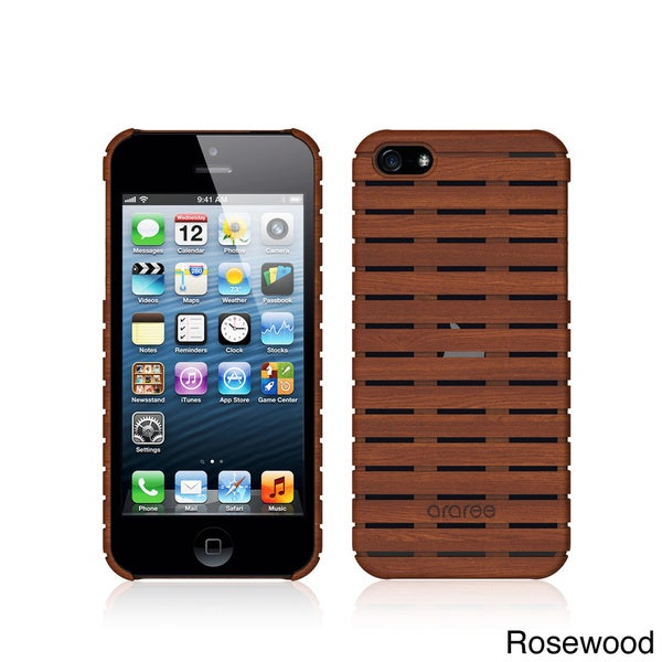 Araree Woody iPhone 5/5s Case with Screen Protector