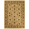 Sapphire Collection Beige Traditional Oriental Design High Quality Area Rug (5'3 x 7'3)