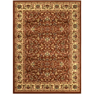 Sapphire Collection Brown Traditional Oriental Design High Quality Area Rug (5'3 x 7'3)