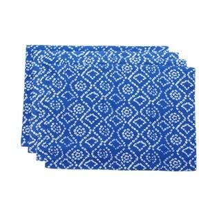 Blue Bandhini Placemats (India)