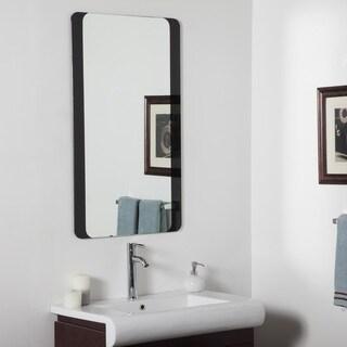 Large Bathroom Mirror - Silver - 39.5Wx23.5x.5D