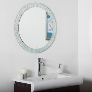 Molten Bathroom Round Mirror