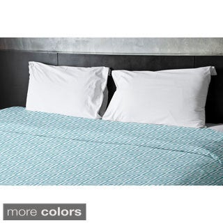 68 x 88-inch Geometric Patterned Duvet Cover