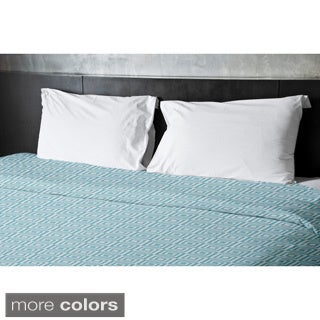 68 x 92-inch Two-tone Boxes Geometric Duvet Cover