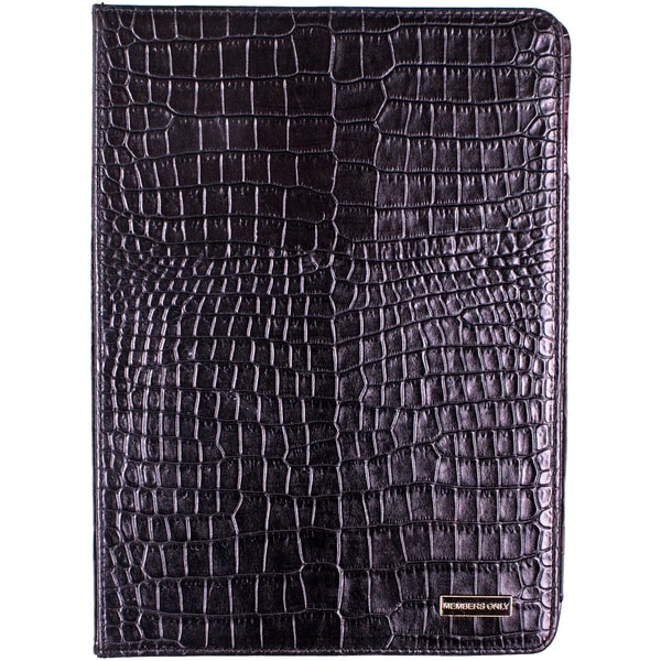 Members Only iPad Air Leather Portfolio Case