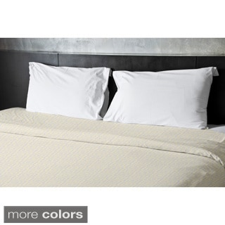 68 x 88-inch Two-tone Boxes Geometric Duvet Cover