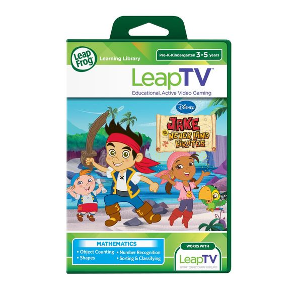 LeapTV Disney Jake Treasure Map