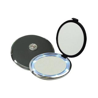 Compact Illuminating 10x Magnifying Mirror