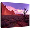 Dean Uhlinger 'High Desert Dawn' Gallery-wrapped Canvas