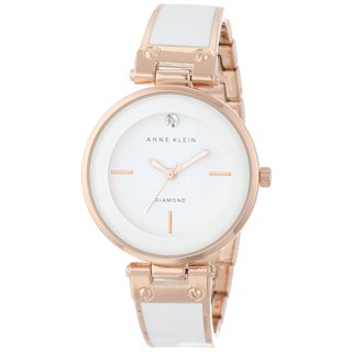 Anne Klein Women's AK-1414WTRG Diamond-accented Watch