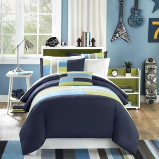 Mi Zone Circuit 4-piece Duvet Cover Set
