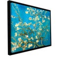 Vincent van Gogh 'Almond Blossom' Floater-framed Gallery-wrapped Canvas
