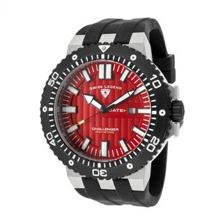 Swiss Legend Men's SL-10126-05-BB 'Challenger' Red Dial Watch