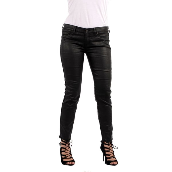 Rich & Skinny Women's 'Marilyn Legacy' Black Coated Jeans