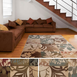 Meticulously Woven Roswell Patchwork Polypropylene Area Rug (10' x 13')
