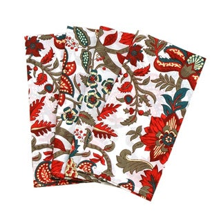 Red Valentina Dinner Napkins