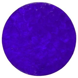 Navy Blue Capiz Placemat