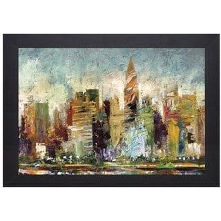 Bruce Maron 'Metropolis' Framed Artwork