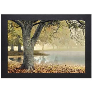 Donald Satterlee 'Lakeside' Framed Artwork