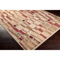 Meticulously Woven Pooler Geometric Polypropylene Area Rug (2' x 3'3)