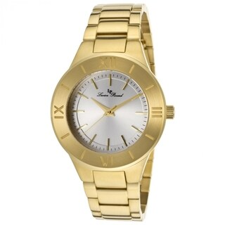 Lucien Piccard Women's LP-12922-YG-22S 'Helena' Goldtone Stainless Steel Watch