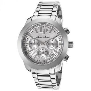 Lucien Piccard Women's 'Belle' LP-12937-22S Silvertone Chronograph Watch
