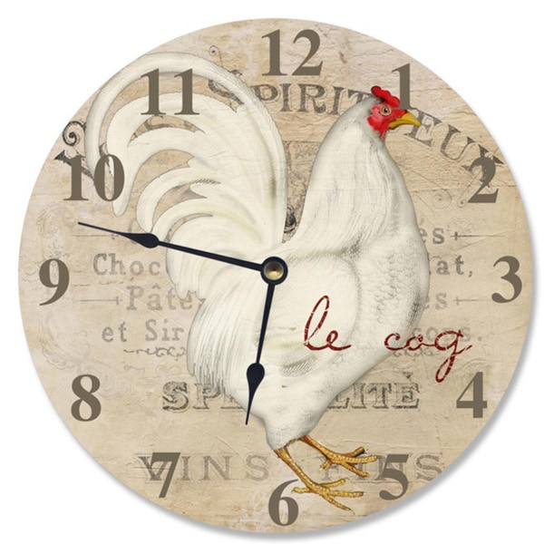 Le Coq Rooster Vanity Clock
