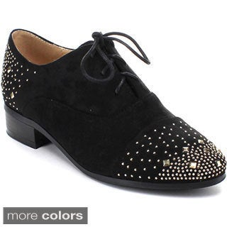 Easos Gea; Hory-81 Women's Studded Lace-up Oxfords