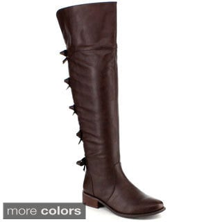 Yoki Kristen 2 Women's Over-the-knee Riding Boots