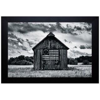 Martin Smith 'Country Barn' Framed Artwork