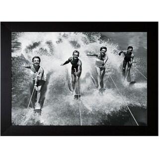 The Chelsea Collection 'Water Ski Splash' Framed Art