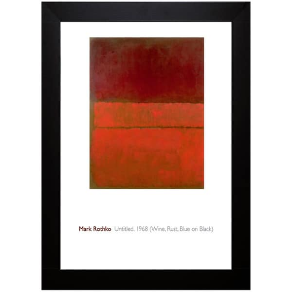 Mark Rothko 'Untitled, 1959' Framed Art
