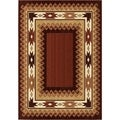 Versailles Bonito Brown Rug (7'10 x 10'10)