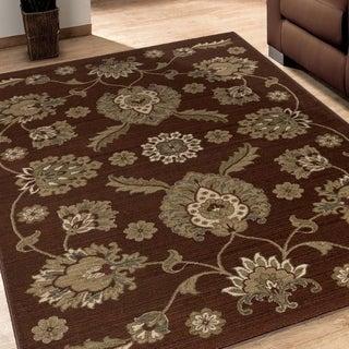 Versailles Adria Brown Rug (5'3 x 7'6)