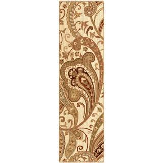 Versailles Kashmir Beige Rug (2'3 x 8')