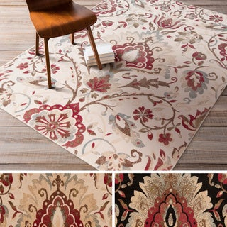 Meticulously Woven Lanier Floral Area Rug 5 3 X 7 6