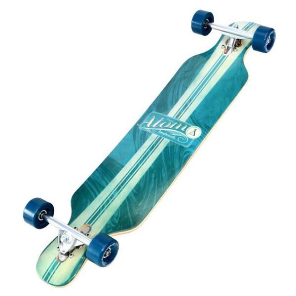 Atom 39-inch Artisan Blue Drop-kick Longboard