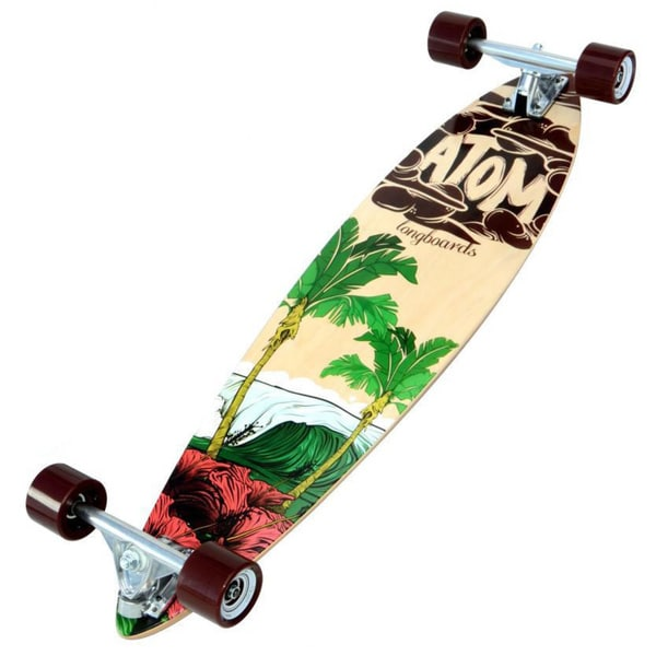 Atom 35-inch Surf Pin-tail Longboard