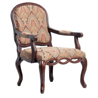 Bethany Hand Carved Accent Chair