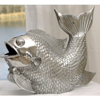 15-inch Cast Aluminum Decorative Fish