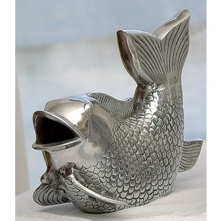 10-inch Cast Aluminum Decorative Fish