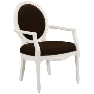 Mirabel Hand-carved Wood Accent Chair