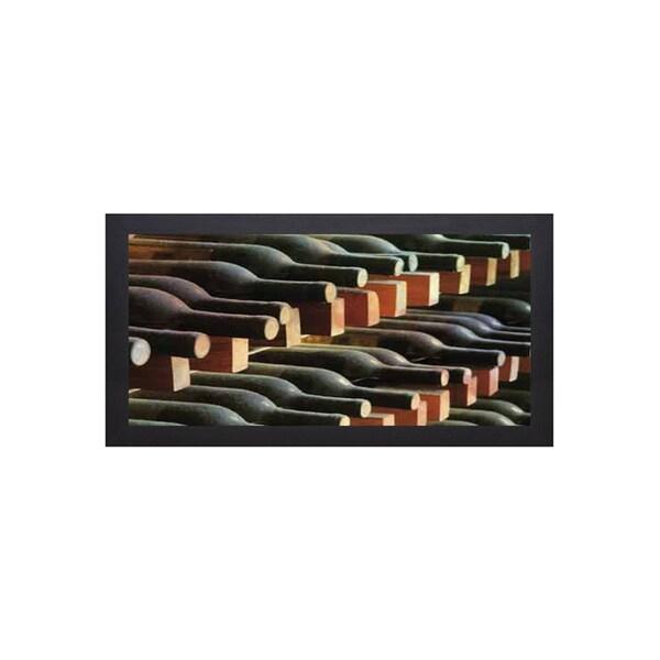 James Gordon 'Wine Cellar I' Framed Artwork