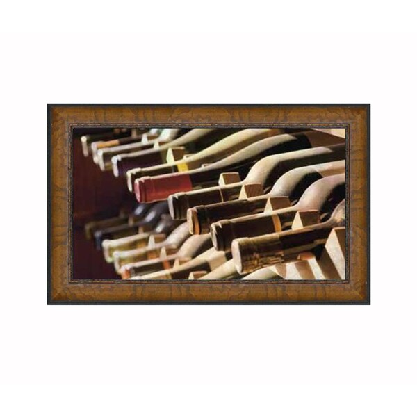 James Gordon 'Wine Cellar II' Framed Artwork