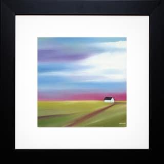 Mary Johnston 'Prairie Abstract 2' Framed Artwork