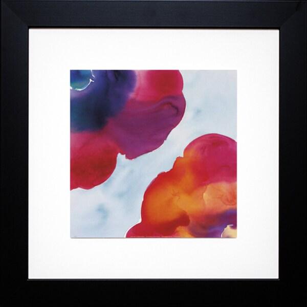 Deborah LaMotte 'Jewels, Red' Framed Artwork
