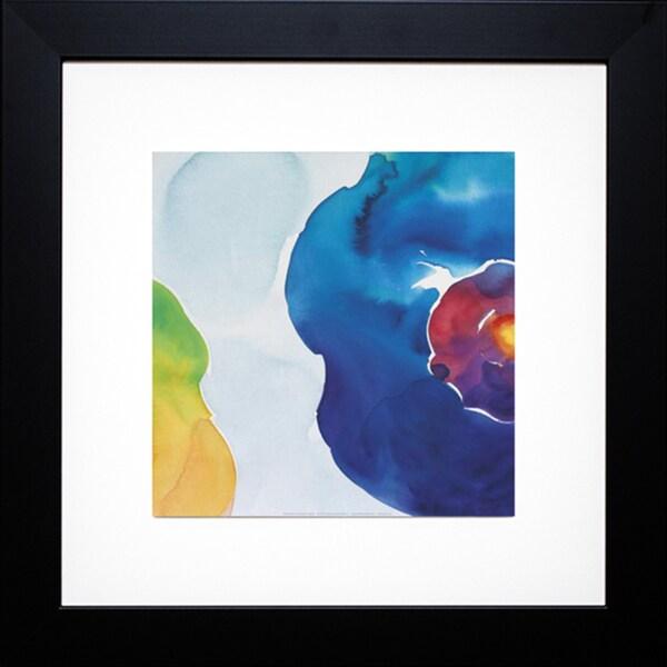 Deborah LaMotte 'Jewels, Blue' Framed Artwork