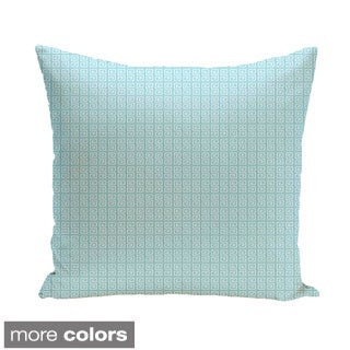 16 x 16-inch Greek Key Geometric Decorative Pillow