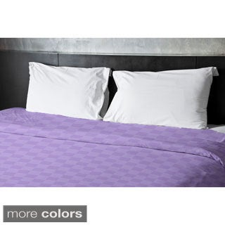 68 x 88-inch Checkerboard Print Duvet Cover