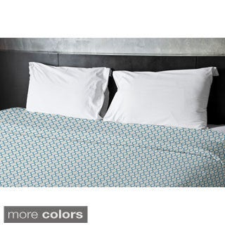 104 x 88-inch Diamond Stripe Print Duvet Cover